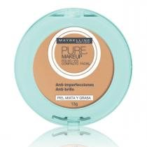 Pó Compacto Maybelline Pure Makeup Natural 13g -