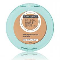 Pó compacto maybelline pure makeup natural 13g - Maybelline
