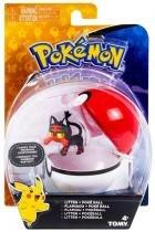 Pokémon - Litten Poké Ball - Tomy T18532 -