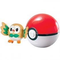 Pokémon - Rowlet Poké Ball - Tomy T18532 -