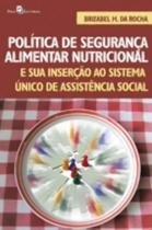 Politica de segurança alimentar nutricional - Paco editorial