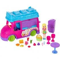 Polly Food Truck 2 em 1 FPH98 Mattel -