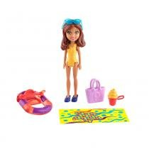 Polly Pocket - Amigas Parque Aquático - Boneca Shani - Mattel - Polly Pocket