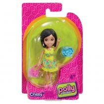 Polly Pocket Básico - Boneca Crissy Passeio - Mattel - Polly Pocket