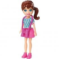 Polly Pocket Básico Boneca Lila - Mattel - Polly Pocket