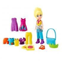 Polly Pocket - Bolsinha Férias Polly Ny - Mattel - Polly Pocket