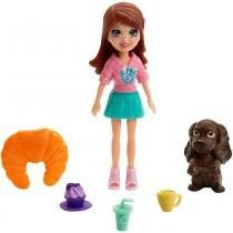 Polly Pocket Bon Café dos Bichinhos Lila - Mattel -