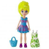 Polly Pocket Boneca e Vestidinho Polly - Mattel - Polly Pocket
