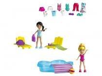 Polly Pocket Diversão na Piscina com Acessórios - Mattel