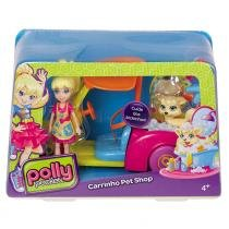Polly Pocket Veiculos Carrinho Pet Shop - Mattel - Mattel