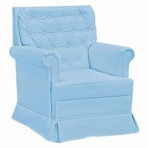Poltrona de Amamentação Balanço Giulia Azul - Fratello - Fratello