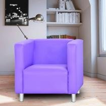 Poltrona Decorativa Corino Matrix - Dora