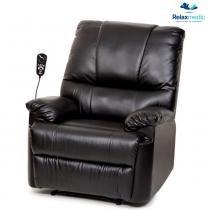 Poltrona do Papai Massageadora Preta E-8145 - RelaxMedic - Relaxmedic