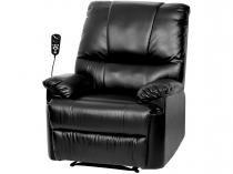 Poltrona do Papai Massageadora Reclinável  - 1 Posição Relaxmedic RM-PM2121A B