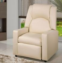 Poltrona do Papai Reclinável American Comfort Halley - Bege - American confort
