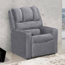 Poltrona Reclinável 2 Posições Suede - American Comfort Styllus