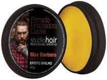 Pomada Modeladora Finalizadora de Cabelo - Nova Muriel Studio Hair Max Barbers 40g