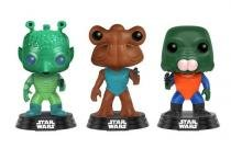 Pop Greedo, Hammerhead  Walrus Man: Star Wars (Exclusivo) (3 Pack) - Funko - Funko