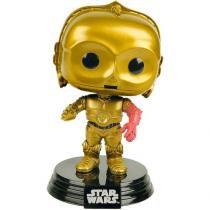Pop Star Wars: Ep7 - C-3po - FUNKO