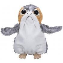 Porg Eletrônico Boneco Pelúcia Star Wars Disney - Hasbro C1942 -