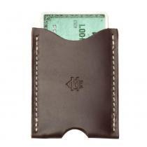 Porta-cartões Card Sleeve Coffee - Cutterman co.