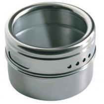 Porta Condimentos Magnético Com 06 Unidades Inox Cozinha - Art house