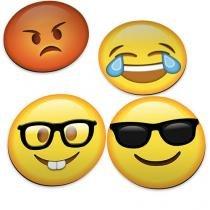 Porta Copos Emoticons Emojis Divertidos - Amarelo - Único - Gorila Clube