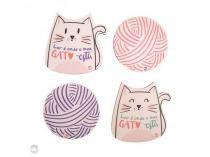 Porta copos gato - lar é onde meu gato está - Unica - Uatt