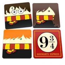 Porta Copos Harry Potter Bruxinhos - Colorido - Único - Gorila Clube