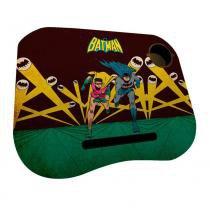 Porta Laptop em MDF e Plástico - DC Comics - Batman e Robin correndo - Sem Led - Metrópole -