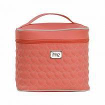 Porta Mamadeira Maternidade Coração de Mãe Coral P - Hug - Hug bolsas