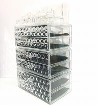 Porta Maquiagem de Acrilico com Gavetas  Organizador 64 - Makesterapia store