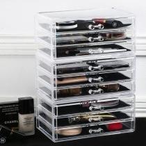 Porta Maquiagem de Acrilico Joias e Escritorio Organizador 10 - Makesterapia store