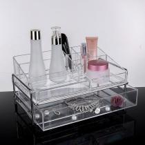 Porta Maquiagem Grande em Acrilico Organizador 91 - Makesterapia store