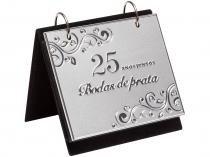 Porta-Retrato 10x15 36 Fotos Cinza Prestige  - 27036