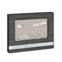 Porta Retrato 10x15 em MDF com Aplicações Metalizada - Yes