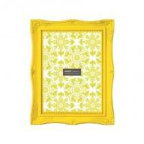 Porta-retrato amarelo - 20 x 25 cm - Amarelo - Mart presentes