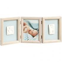 Porta-Retrato Bebê Baby Art My Baby Touch - 13,5x13,5 com Massa de Modelar