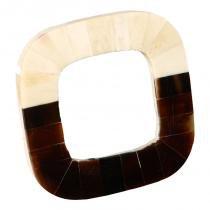 Porta-retrato decorativo de chifre quadrado ismailia - Maria pia casa