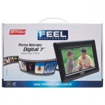 Porta Retrato Digital 7 Bd-700 Feel Eletronics -