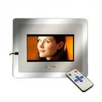 Porta Retrato Digital Com Mp4 Player 5904 Leadership -