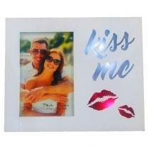 Porta Retrato Luminoso Kiss Me - Versare Anos Dourados