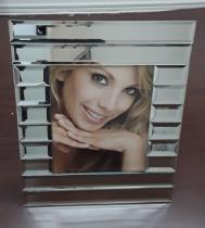 Porta retrato moldura em espelho 15cm x 20cm - incasa - Craw