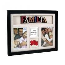 Porta-retrato multi fotos - 4 Janelas - Família - Yes