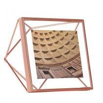 Porta Retrato Prisma 10X10 Cobre Umbra -