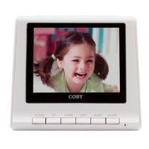 Porta Retratos Digital Branco 3,5 Usb Dp356 Coby -