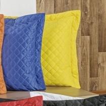 Porta Travesseiro 140 Fios Padrão Dream 01 Peça - Amarelo - Sulamita Enxovais