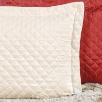 Porta Travesseiro 140 Fios Padrão Dream 01 Peça - Creme - Sulamita Enxovais