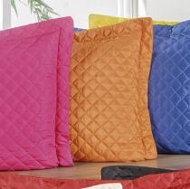 Porta Travesseiro 140 Fios Padrão Dream 01 Peça - Tangerina - Sulamita Enxovais