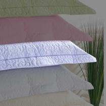 Porta Travesseiro Alure Lilás - Markine - Branco - Sulamita